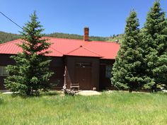 Old school house, now someone's cabin.
