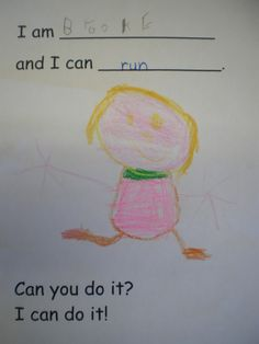"5 senses read the book ""From Head to Toe"" by Eric Carle.  Have kids draw a picture of what they can do ie:  throw a ball, whistle, run, hop"