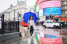 Piccadilly Circus, London.  Photography
