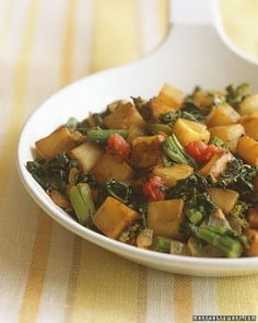 See the Turnip Hash with Broccoli Rabe in our Turnip Recipes gallery