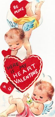 """""""Be Mine"""": I actually remember getting this Valentine as a kid!!"""