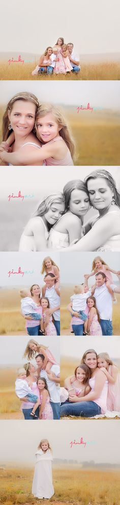 JinkyArt ~ love these family shots. I love how candid it gets at the bottom