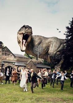The Wedding Crasher! Unique and unusual wedding photo! Must do this for our wedding! Wedding photo ideas - fun http://www.uptherighttreephotography.co.uk/wedding-crasher/