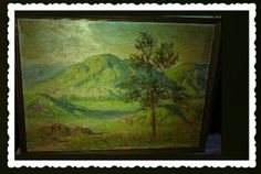 Hey, I found this really awesome Etsy listing at https://www.etsy.com/listing/479804736/christmas-antique-1950-paintingrocky