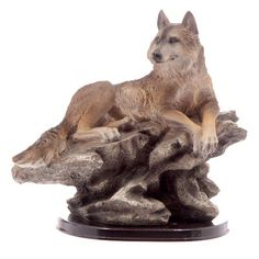 www.hastings-crystal.co.uk  Home and Garden  Decorative Home Accessories  Figurines  Lone Wolf Figurine
