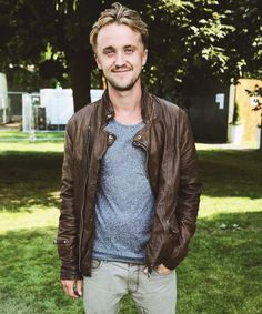 Tom Felton is so dashingly handsome!!
