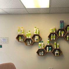 Set of 5 Medium Deep Hexagon Shelves, Honeycomb Shelves, Floating Shelves, Geometric Shelves Honeycomb Shelves, Geometric Shelves, Hexagon Shelves, Wall Shelves, Shelving, Cat Climbing Wall, Reclaimed Wood Floating Shelves, Honeycomb Shape, Wall Decor