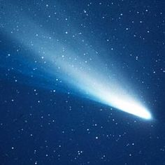 An image of Halley's Comet taken in 1986