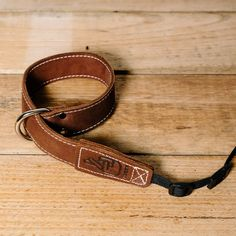 The best gift for photographers - Wrist Strap - Brown - Lucky Camera Straps - genuine leather camera strap personalised handmade in Australia  - 1