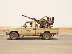 The Pickup Trucks of War During the Libyan Liberation