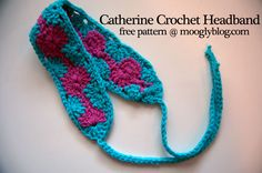 Catherine Crochet Headband: free pattern at moogly