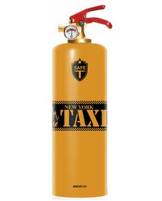 Safe-T Designer Fire Extinguishers Are The Hottest Safety Decor For Your Home  #art #creative #designer #fire #home #safety Fire safety should always be a top concern for residential and commercial properties, especially when people like these take playing with fireto a w...