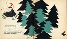 Baba Yaga by Nathalie Parain published by Flammarion. 1932.
