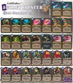 Is Face still the Place? Watch the video on our website! Make this deck more budget friendly by replacing Leeroy with another Wolfrider. #Hearthstone
