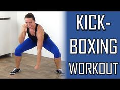 10 Minute Cardio Kickboxing Workout – Kickboxing Exercises to Burn Calories – No Equipment - YouTube