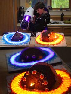 Awesome Portale Cake.