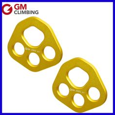 Rigging Plate Rope Rescue Rock Climing Bear Paw Anchor Plate 30kN / 6700lbs for Arborist Mountaineering Caving