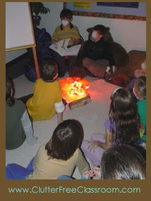 camping ideas for the classroom@Ashlee Hoppes