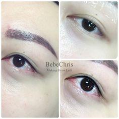 Eyeliner Embroidery, Semi Permanent Eyeliner, Eyebrows, Eye Brows, Eyebrow, Brows, Dip Brow