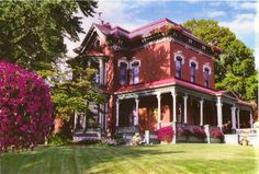 theenchantedcove:    Quincy House For Sale-Flower House  Click on link for more images of this beautiful Victorian home.  (See the inside rooms, amazing decor and architecture).