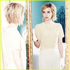 Emma Roberts Stuns in 'Elkin' FW14 Look Book (Exclusive Pics!)