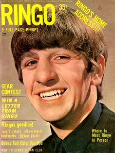 """Ringo"" Teen Screen Life Story: S M H Publications (USA), 1964"