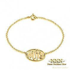 Browse a Huge Selection of Designs. Customize Your Own Unique Bracelet Diy Jewelry, Vintage Jewelry, Unique Jewelry, Monogram Bracelet, Circle Monogram, Unique Bracelets, Bridesmaid Gifts, Bridesmaids, All Things Beauty
