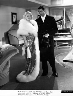 """When asked by Anjelica Huston who her favorite male actor was, Mae West said, """"Cary Grant. I put him in a picture. Old Hollywood Movies, Old Hollywood Stars, Golden Age Of Hollywood, Vintage Hollywood, Classic Hollywood, Hollywood Style, Hollywood Icons, Hollywood Fashion, Hollywood Glamour"""