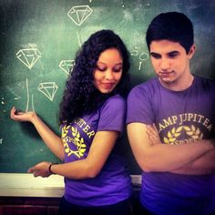 A perfect cosplay of Hazel Levesque and Frank Zhang