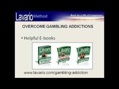 Overcome gambling addictions – instead of staying for weeks in an addiction clinic or seeing your counselor only once a week you might want to try a self-help program  to overcome compulsive gambling. This short video explains how that works. Also on http://www.lavario.com/gambling-addiction.