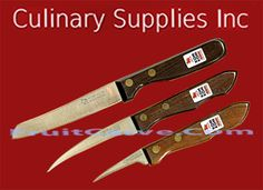Kom Kom  Set A Fruit Carving Sets:  Culinary Supplies Inc.-USA importer and specializing in carving knives garnish tools books and more. Find and bundle online at CulinarySupplies.Org and FruitCarve.Com