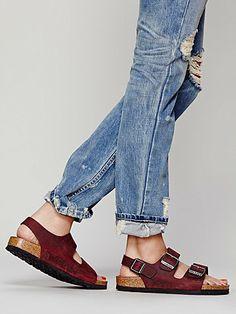 Amazon: Birkenstock Milano Sandals Birko Flor EUR 36