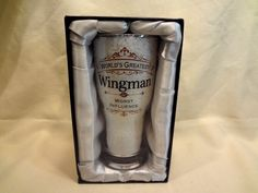 Wingman Beer Glass World's Greatest Wingman Worst Influence Cool Barware Gift | eBay