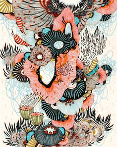 Giclee Kunstdruck feine Watercrest von yellena auf Etsy