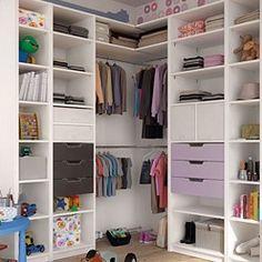 Les 12 meilleures images de Placard d\'enfant | Bedroom organisation ...