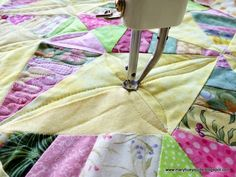 Quilting through Rose-colored Trifocals!