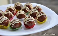 Bomboane Mozart Marzipan, Mini Cupcakes, Biscuits, Nutella, Food And Drink, Desserts, Dessert Ideas, Workshop, Kitchen