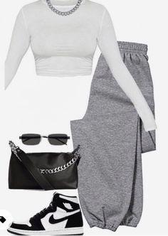Tomboy Fashion, Teen Fashion Outfits, Mode Outfits, Retro Outfits, Look Fashion, Streetwear Fashion, Fashion Women, Winter Fashion, Swag Outfits For Girls