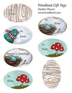 Httppinterestim1krazylady heart handmade uk my the sketchables humblearts holiday gift tags negle Images