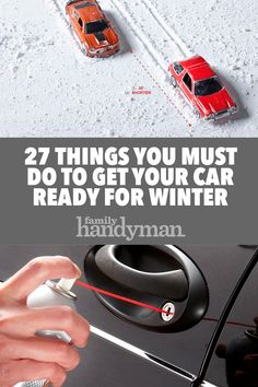 27 Things You Must Do To Get Your Car Ready For Winter Car Cleaning Hacks, Car Hacks, Diy Cleaning Products, Winter Car Kit, Car Travel, Diy Car, Car Engine, Car Checklist, Car Safety Tips