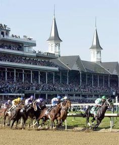 #Motel6UBL Churchill Downs, Louisville KY...the Kentucky Derby Musuem and then  head on to Lexington, KY also