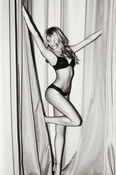 Candice Swanepoel backstage at the 2013 Victorias Secret Fashion Show