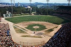 Forbes Field - history, photos and more of the Pittsburgh Pirates former ballpark June 30,1909 - June 28, 1970