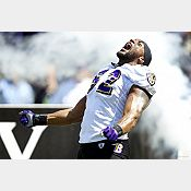 Ray Lewis Entrance