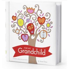 For My Grandchild Baby Diary is one of the sweetest ideas to come out of Sweden.  £19.99 Check it out here:  http://www.prettyspecial.co.uk/Fill-and-Tell-For-My-Grandchild-Baby-Diary