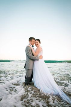 Megan Helm Photography | Trash the Dress | Ocean Trash the Dress | Davids Bridal | Men's Wearhouse | Avila Beach Wedding | Sunset Wedding | California Bride
