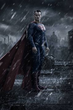 First look at Henry Cavill as Superman in Batman vs. Superman: Dawn of Justice