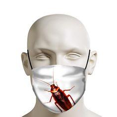 Cockroach face mask, funny mask, horror mask, disgusting mask, ................................ coronavirus, convid-19, protection mask,corona virus, face mask, Gesichtsmaske, Schutzmaske, mascara facial, mascara de proteccion,masque de protection, masque facial, tapa boca, tapabocas, cubrebocas, mascarillas de protección, :) ...................................................................... Funny Clothes, Funny Outfits, Funny Face Mask, Face Masks, Facial, Horror Masks, Funny Posters, Funny Stickers, Funny Shirts