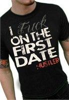 Hustler First Date T-Shirt (Black)