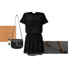 french chic and elegant, love the tiny black bag